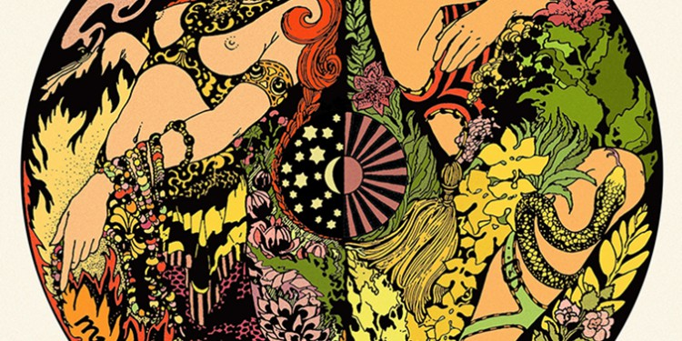 Blues Pills - Lady In Gold - Artwork